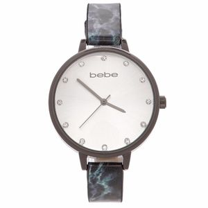 Bebe crystal anccent marble straps